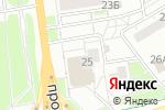 Схема проезда до компании Music Hall в Белгороде