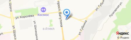 Детский сад №69 Сказка на карте Белгорода
