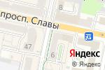 Схема проезда до компании Апартамент плюс в Белгороде