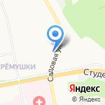 Мольберт на карте Белгорода