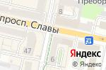 Схема проезда до компании Гранд Стиль в Белгороде