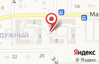 Схема проезда до компании Радужный в Северном