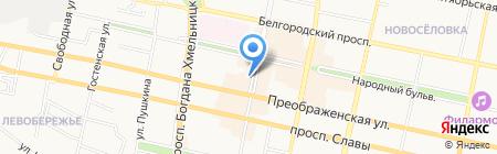 Николь на карте Белгорода