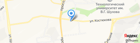 Пекарня на карте Белгорода