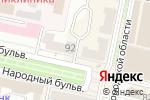 Схема проезда до компании Камея в Белгороде