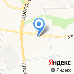 Магазин горячей выпечки на карте Белгорода