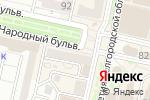 Схема проезда до компании Всё по карману в Белгороде