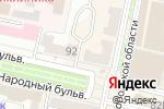 Схема проезда до компании Король меха в Белгороде