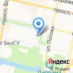 Комильфо на карте Белгорода