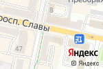 Схема проезда до компании Первый визовый центр в Белгороде