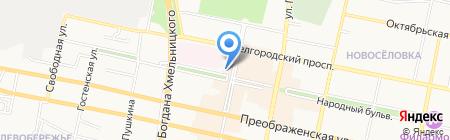 Триколор ТВ на карте Белгорода