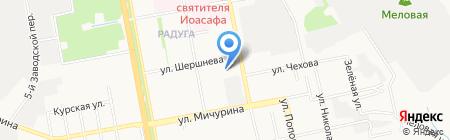 Государственный архив новейшей истории Белгородской области на карте Белгорода