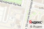 Схема проезда до компании Медтехника в Белгороде