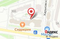 Схема проезда до компании Климат Дом в Белгороде