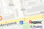 Схема проезда до компании Колос в Белгороде