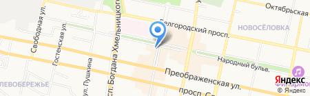 Королевский Размер на карте Белгорода