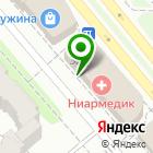 Местоположение компании НИАРМЕДИК