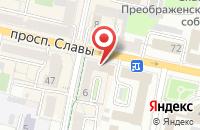 Схема проезда до компании БелЮрКонсалт в Белгороде