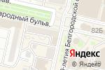 Схема проезда до компании Мастерская по перетяжке мебели в Белгороде