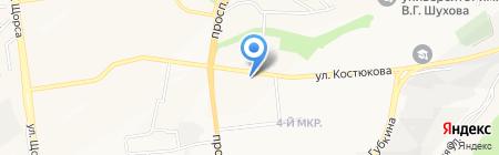 Ромашка на карте Белгорода
