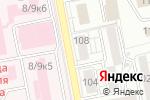 Схема проезда до компании Прелесть в Белгороде