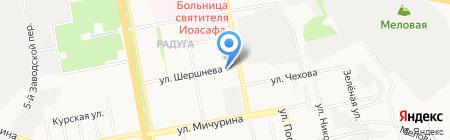 Белгородтисиз на карте Белгорода
