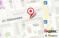 Схема проезда до компании Белгородтисиз в Белгороде