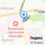 Екатерина на карте Белгорода