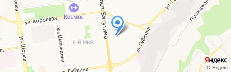 Детский сад №70 Светлячок на карте Белгорода