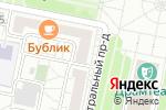 Схема проезда до компании Чирада в Белгороде