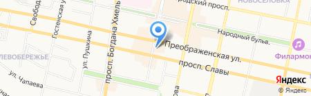 Елена на карте Белгорода
