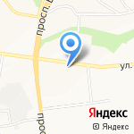 Штучка на карте Белгорода