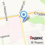 Государственный региональный центр стандартизации на карте Белгорода