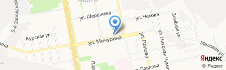 Колос на карте Белгорода