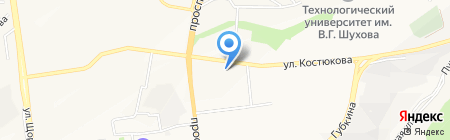 Professional на карте Белгорода
