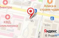 Схема проезда до компании Ткани-Фурнитура в Белгороде