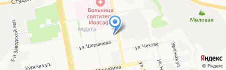 Вереск на карте Белгорода