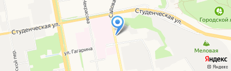 Дэнас-терапия на карте Белгорода