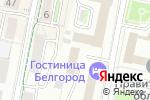 Схема проезда до компании Платежный терминал, Банк Уралсиб, ПАО в Белгороде