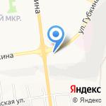 Емеля на карте Белгорода