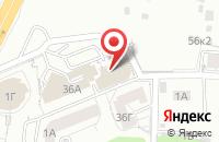 Схема проезда до компании Квартирное бюро в Белгороде