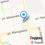 Мир игрушек на карте Белгорода