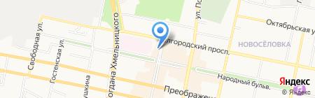 1xBet на карте Белгорода