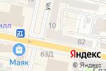 Схема проезда до компании Милена в Белгороде