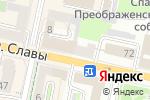 Схема проезда до компании Горин Продукт в Белгороде