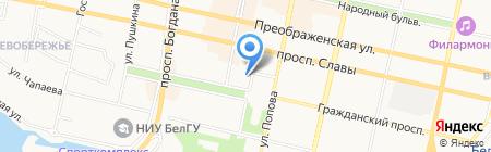 Россельхозбанк на карте Белгорода