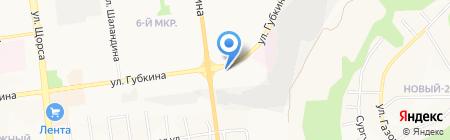 Виват-авто на карте Белгорода