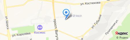 Средняя общеобразовательная школа №36 на карте Белгорода