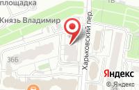 Схема проезда до компании МАКС-Строй в Белгороде