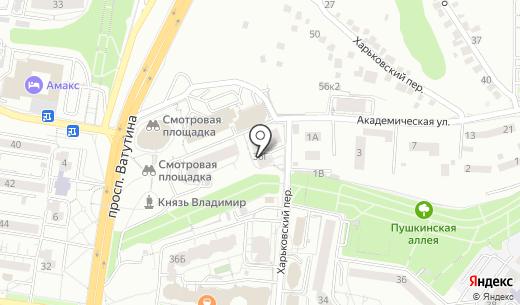 КапиталАгро. Схема проезда в Белгороде